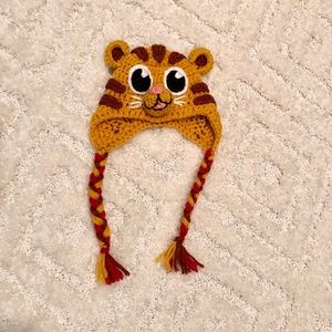 Daniel Tiger Crochet hat